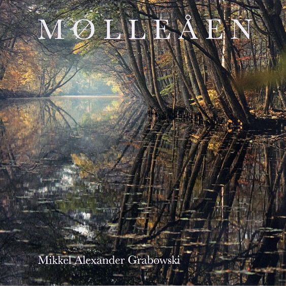 Cover photo Mikkel Alexander Grabowski's fine art photography coffee table book about Mølleåen