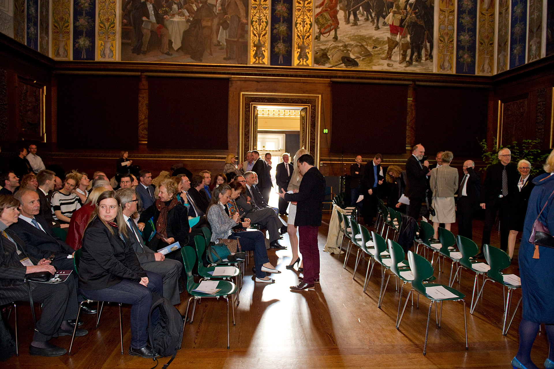 people at a Kierkegaard Symposium in Copenhagen University