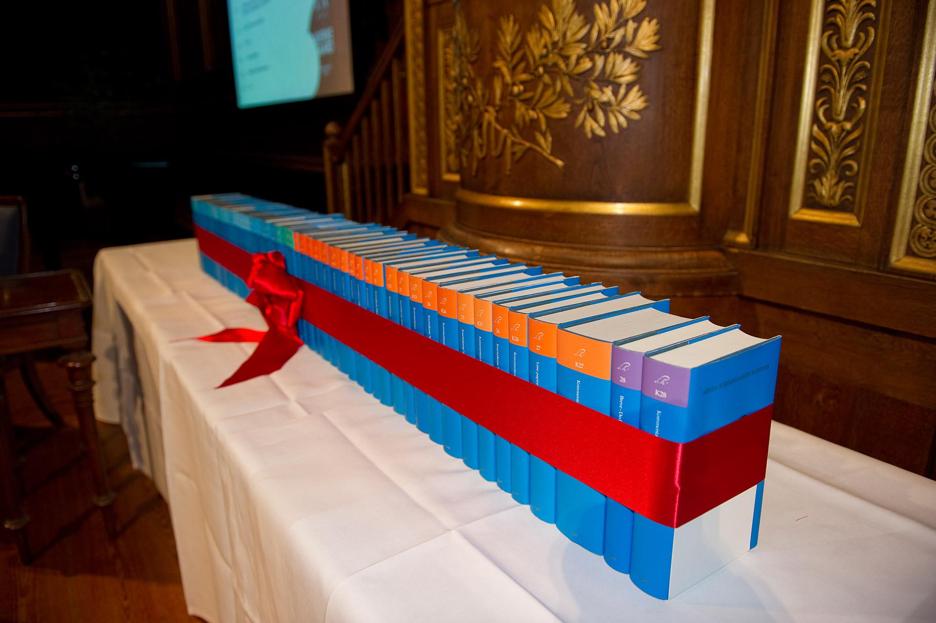 Books at a Kierkegaard Symposium in Copenhagen University
