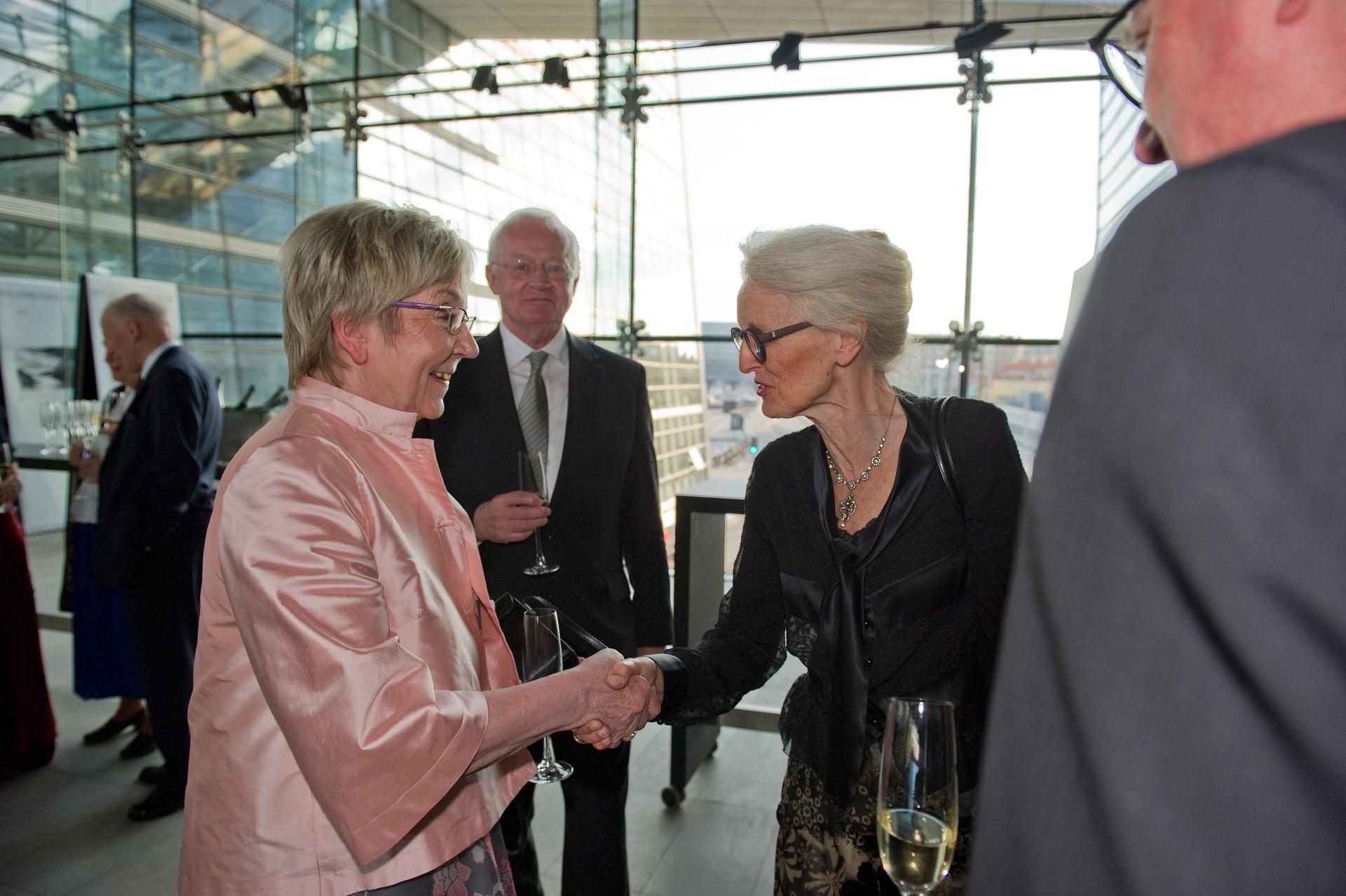 Marianne Jelved at a Kierkegaard Symposium in Copenhagen