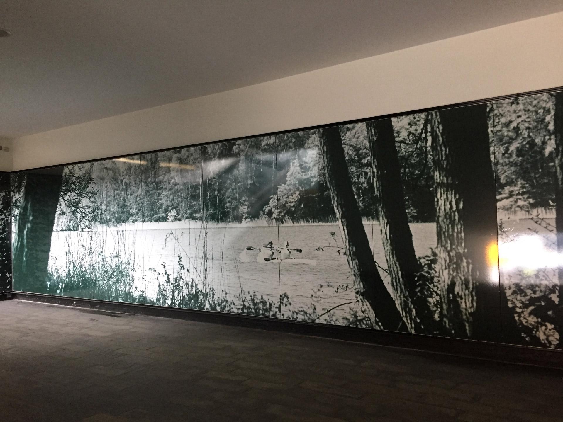 Mikkel Grabowski's permanent exhibition at Bagsværd Station