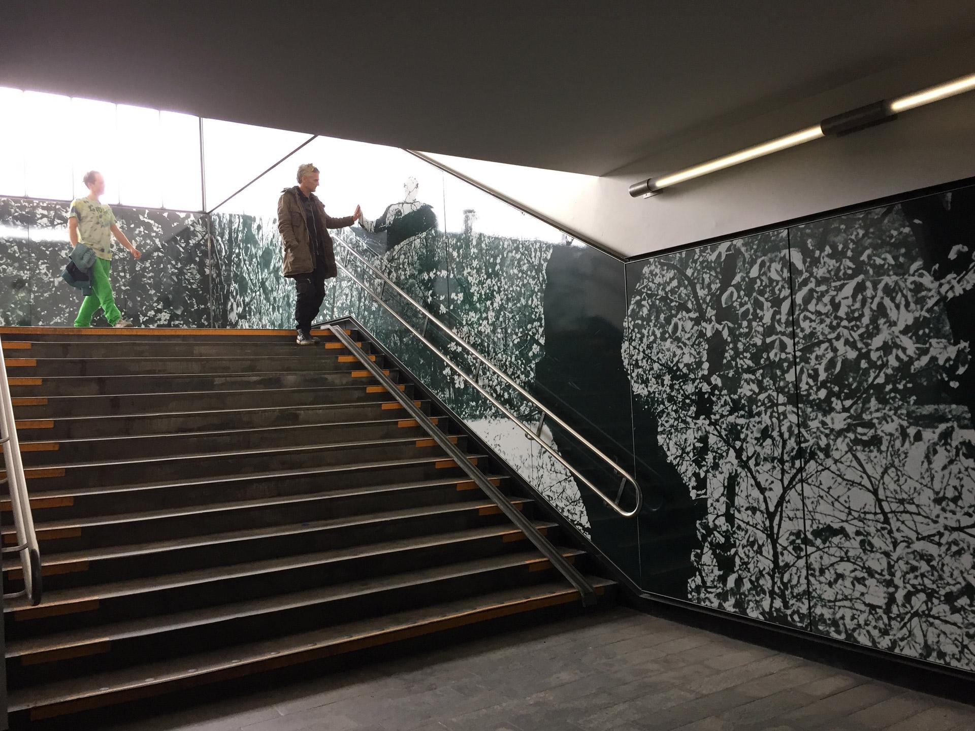 Mikkel Grabowski's exhibition at Bagsværd Station