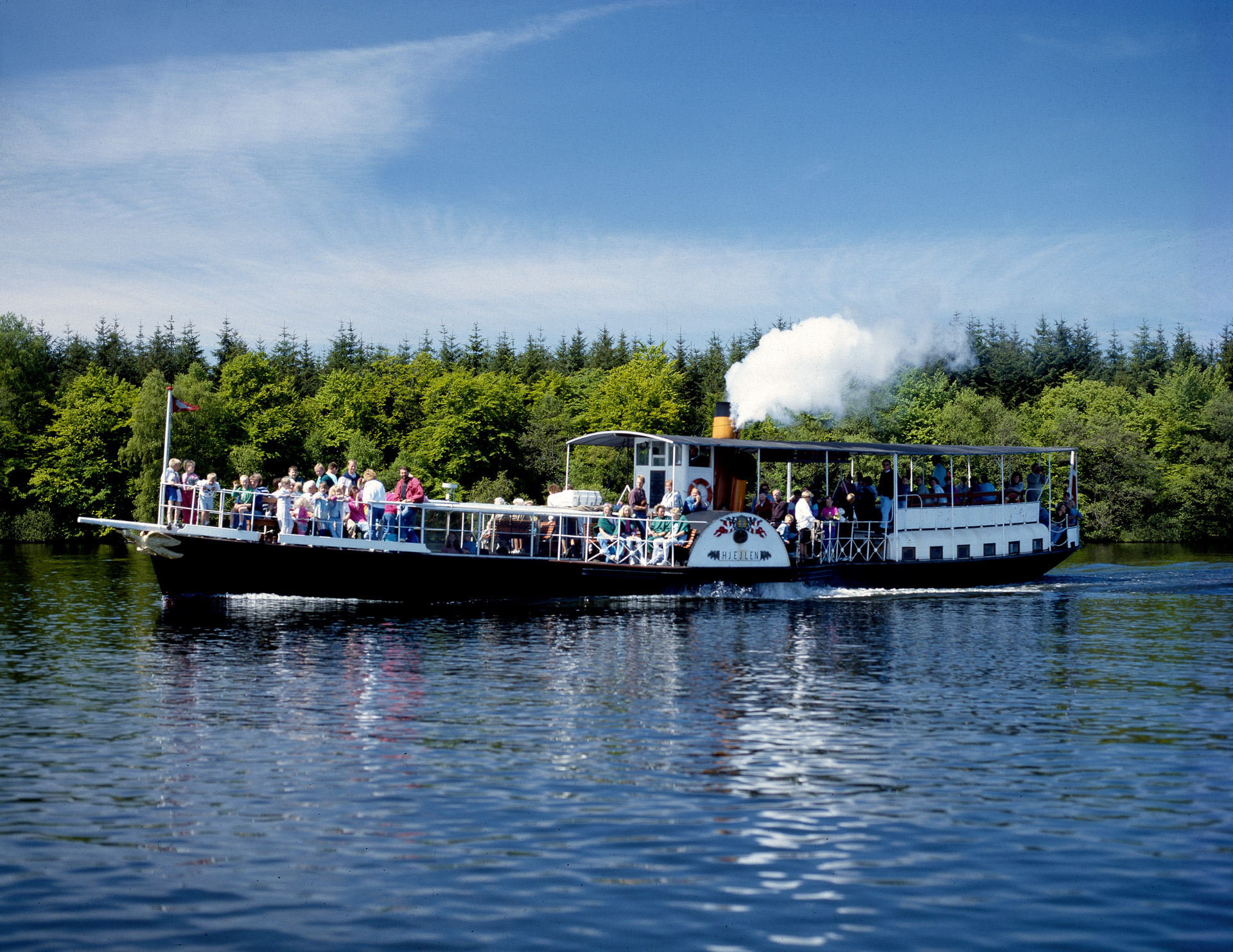 Hjejlen the oldest steam-ship in Denmark