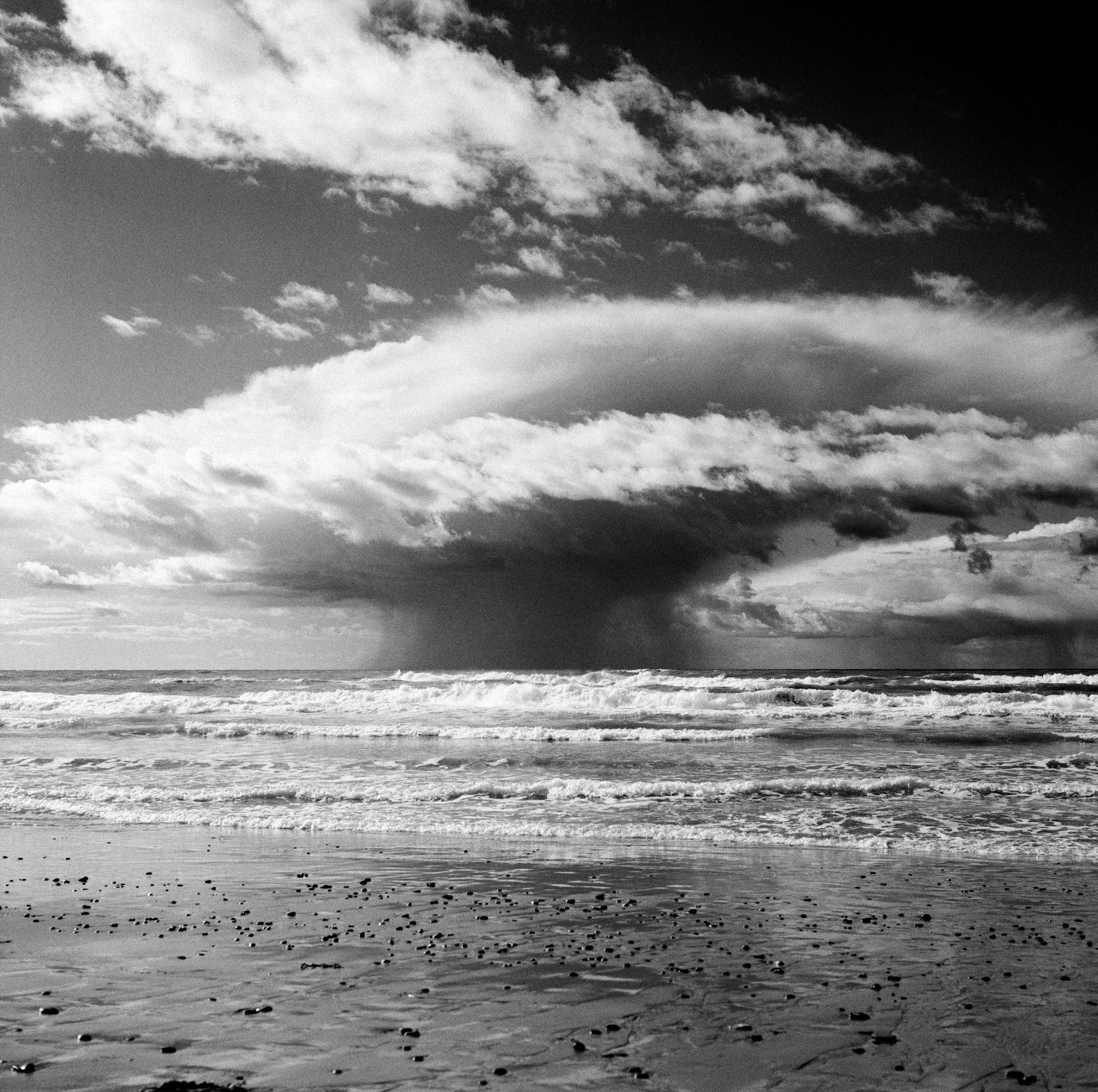 Huge Cumulus cloud over the North Sea in Kandestederne