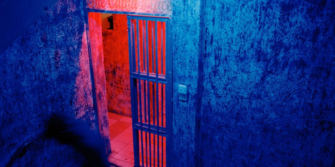 Entrance to a discoteque Kisumu Kenya