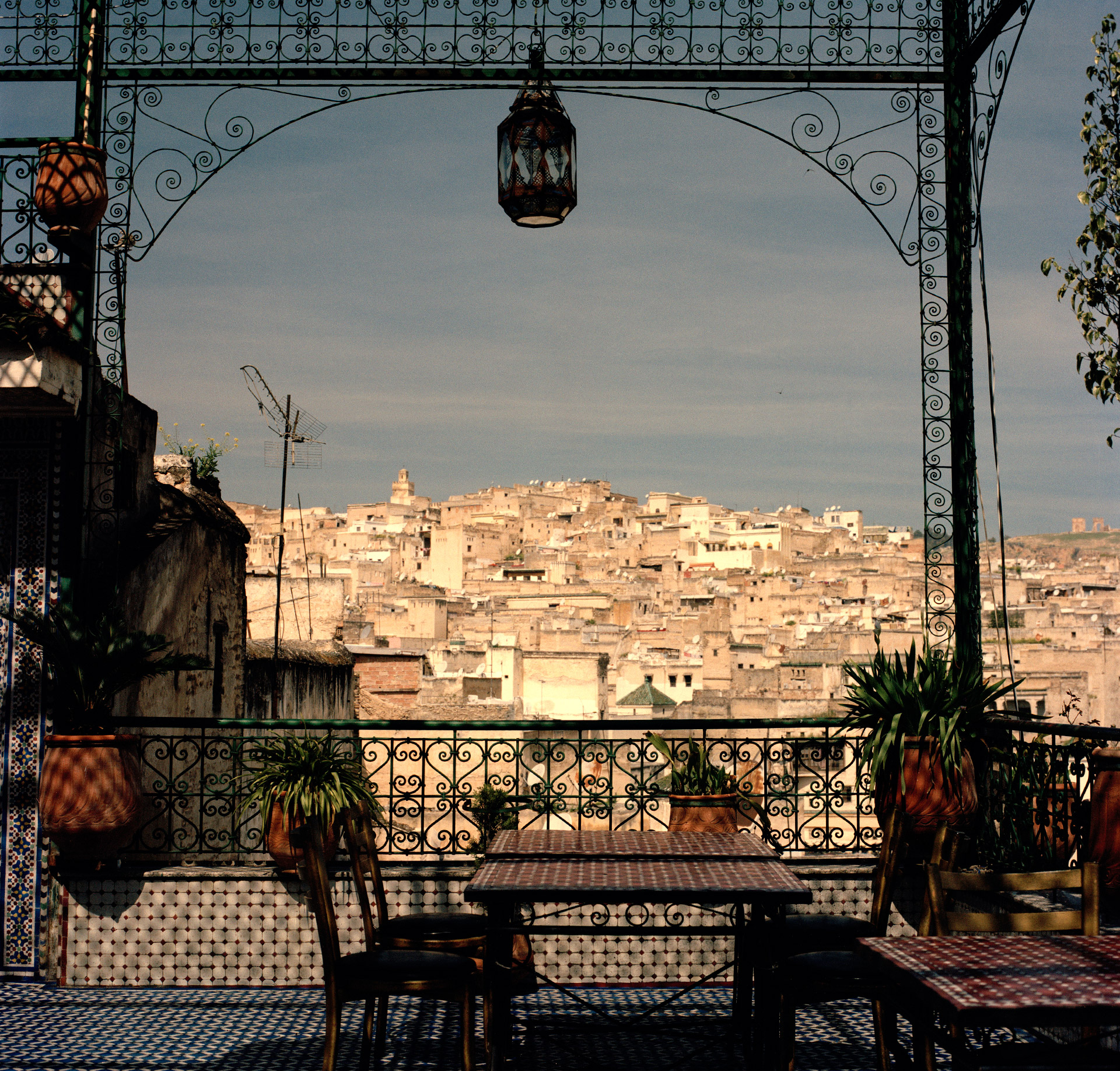 The old Medina quarters of Fez in Morocco