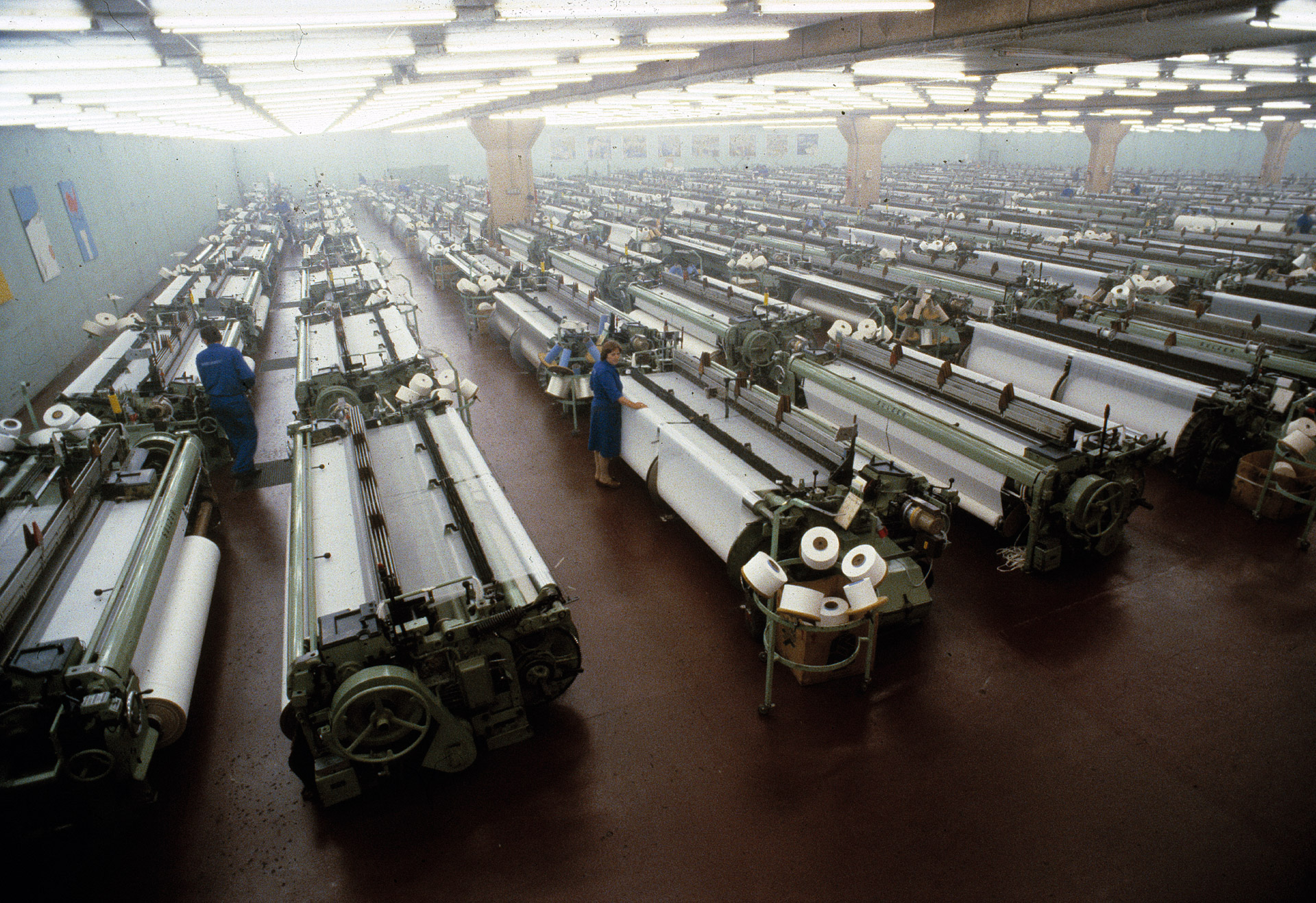 B.W. Wernerfelt weaving factory in Mo I Rana in Norway